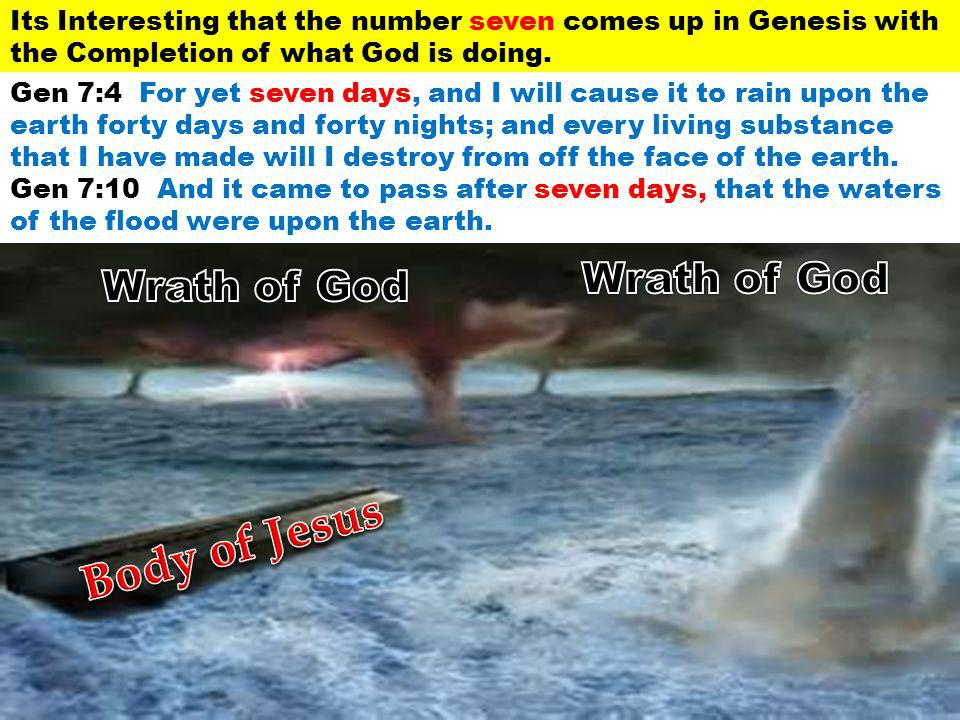 Body of Jesus Wrath of God Wrath of God