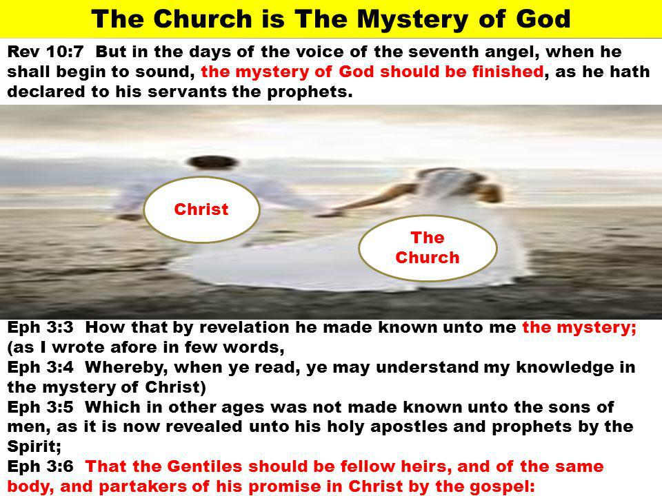 The Church is The Mystery of God