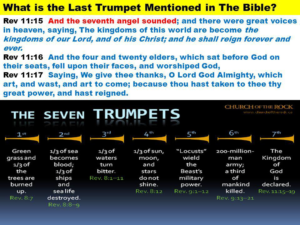 What is the Last Trumpet Mentioned in The Bible