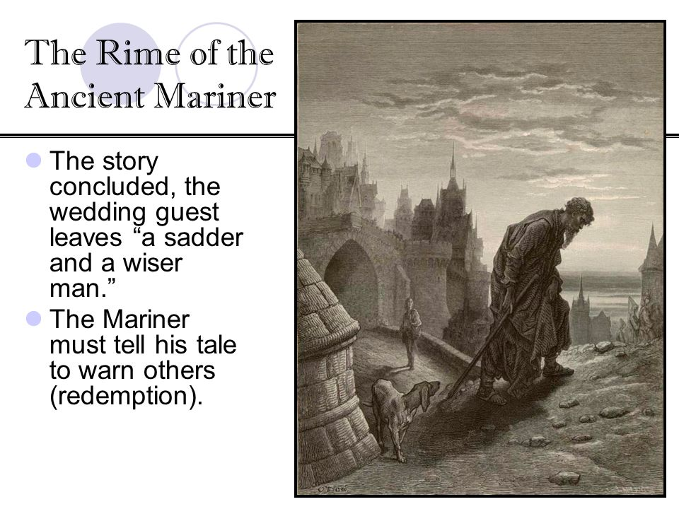 the rime of the ancient mariner essay help Essay editing help upload your essay browse composed a few miles above tintern abbey by william wordsworth and the rime of the ancient mariner by samuel.
