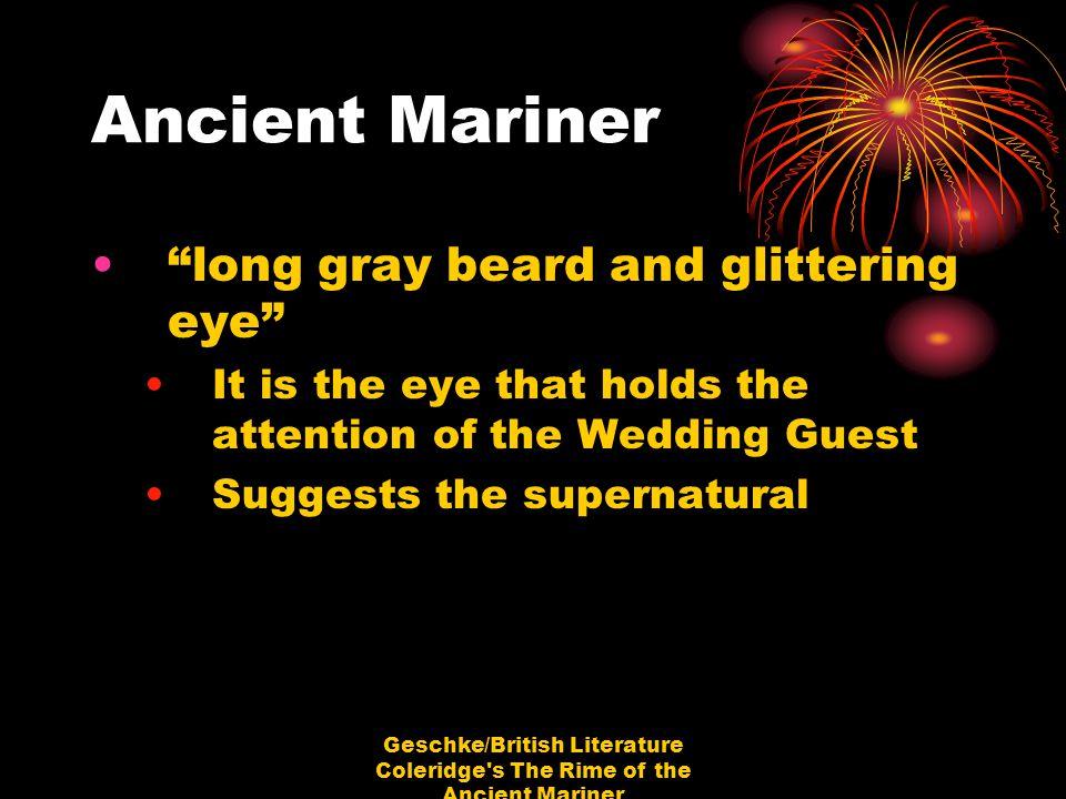 Geschke/British Literature Coleridge s The Rime of the Ancient Mariner