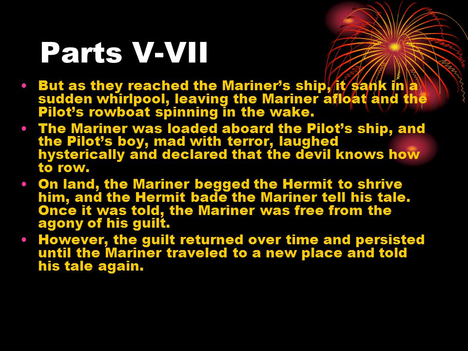 Parts V-VII