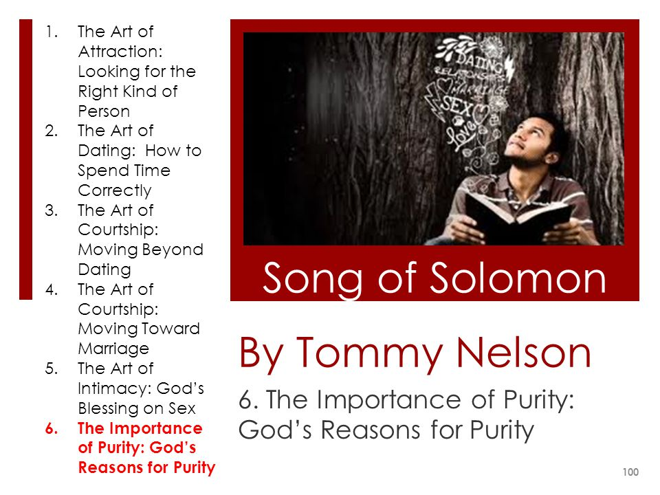 6. The Importance of Purity: God's Reasons for Purity
