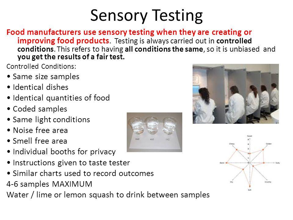 Sensory Testing
