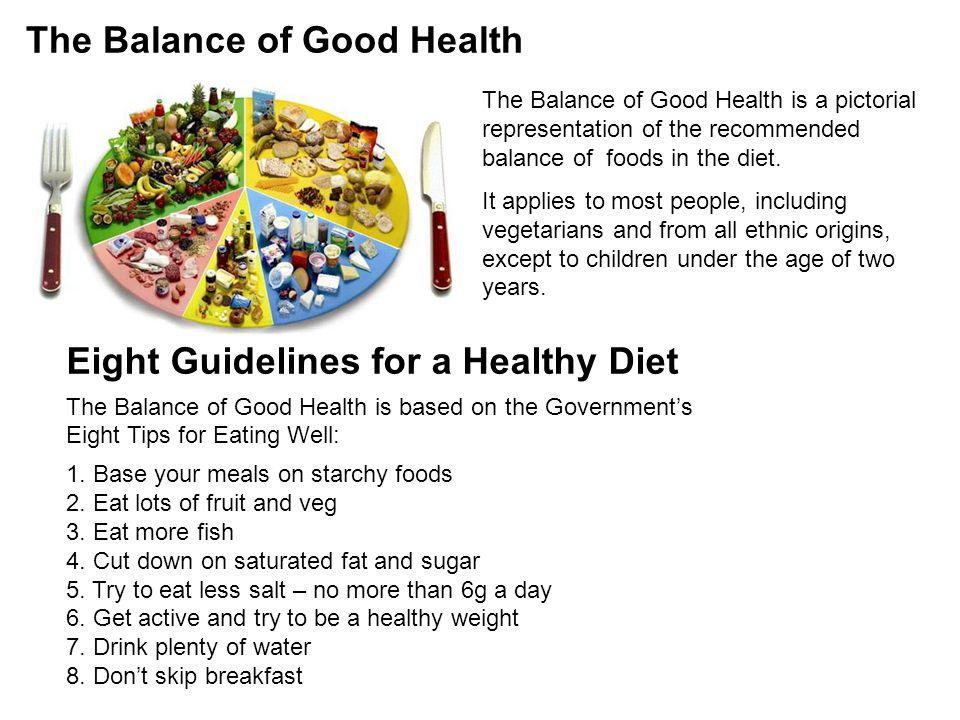 The Balance of Good Health