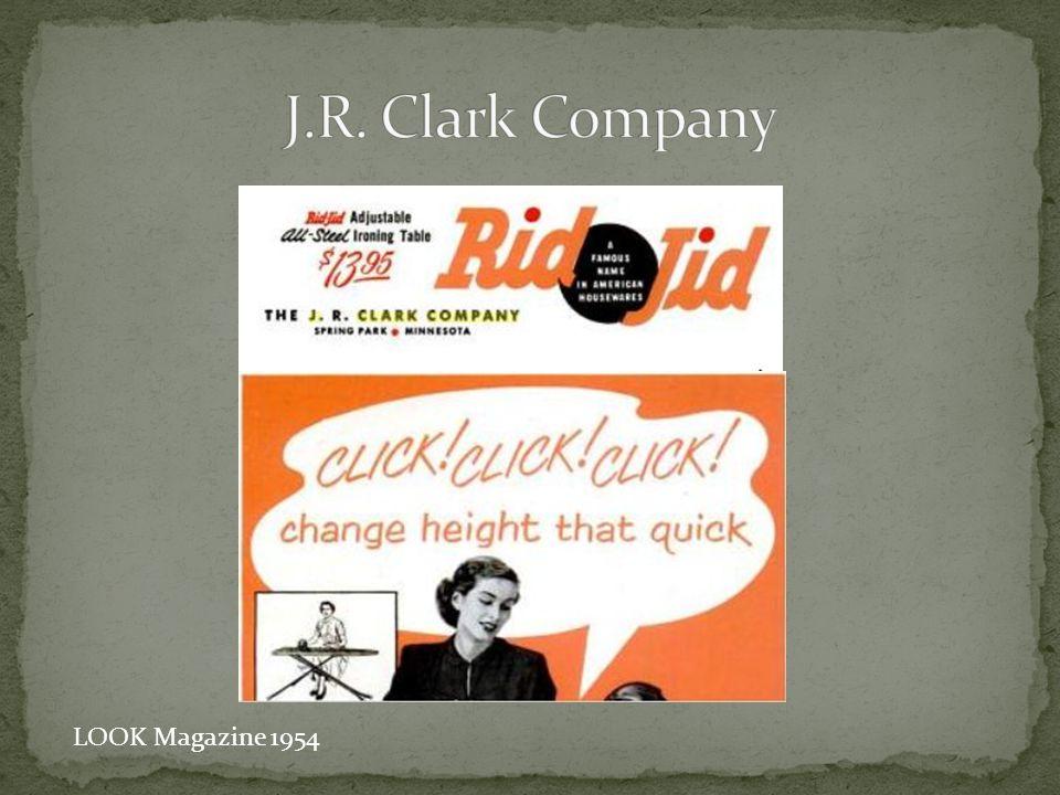 J.R. Clark Company LOOK Magazine 1954
