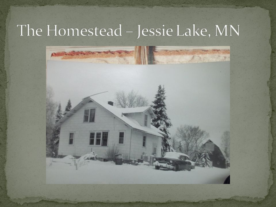 The Homestead – Jessie Lake, MN