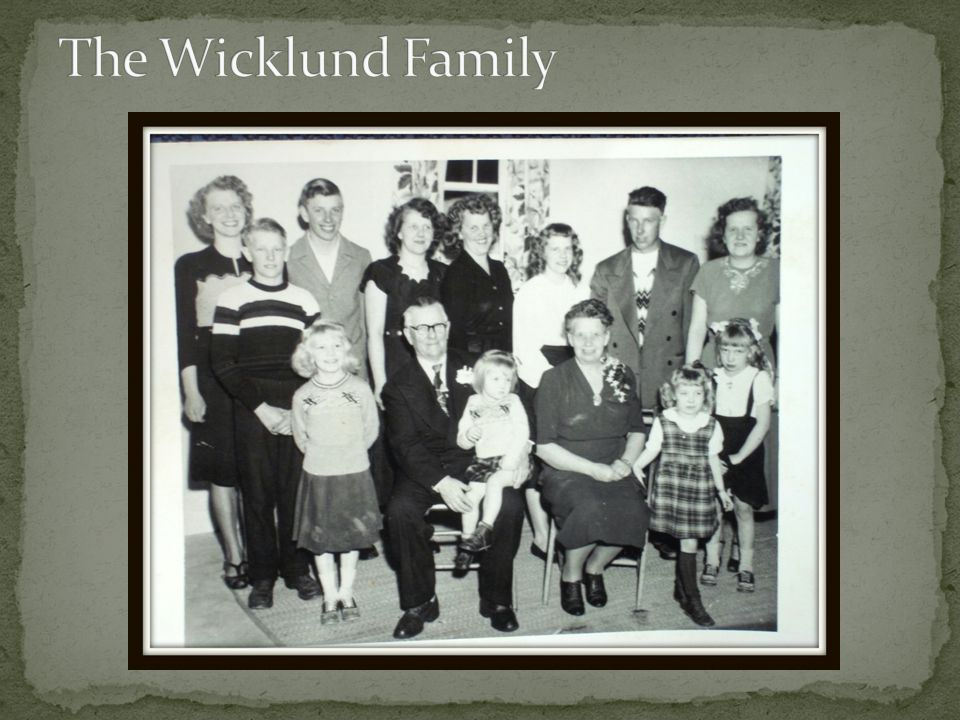 The Wicklund Family
