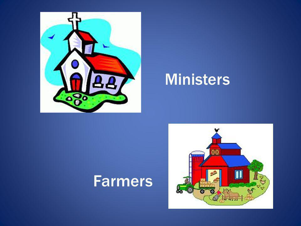 Ministers Farmers