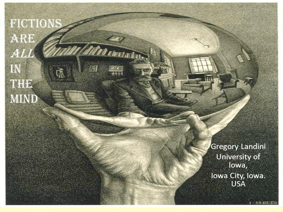 Gregory Landini University of Iowa, Iowa City, Iowa. USA