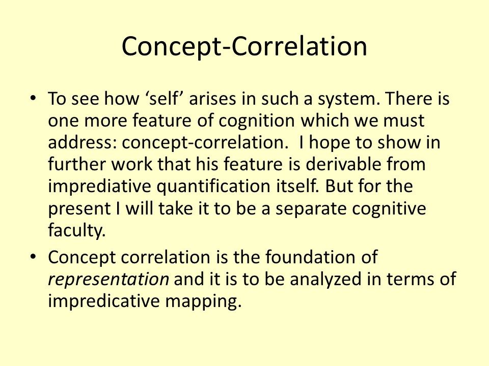 Concept-Correlation