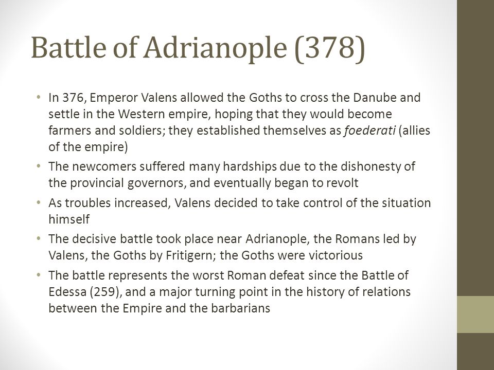 Battle of Adrianople (378)