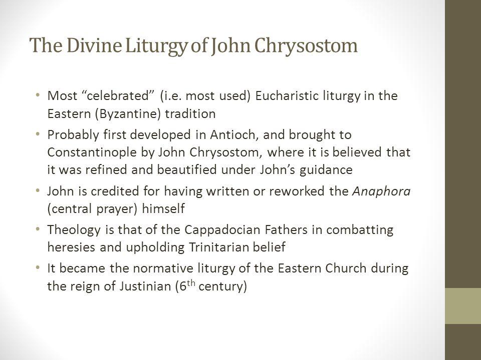 The Divine Liturgy of John Chrysostom