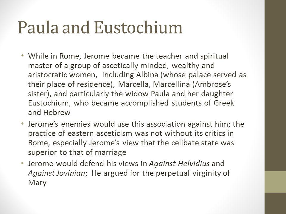 Paula and Eustochium