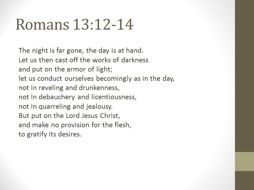 Romans 13:12-14