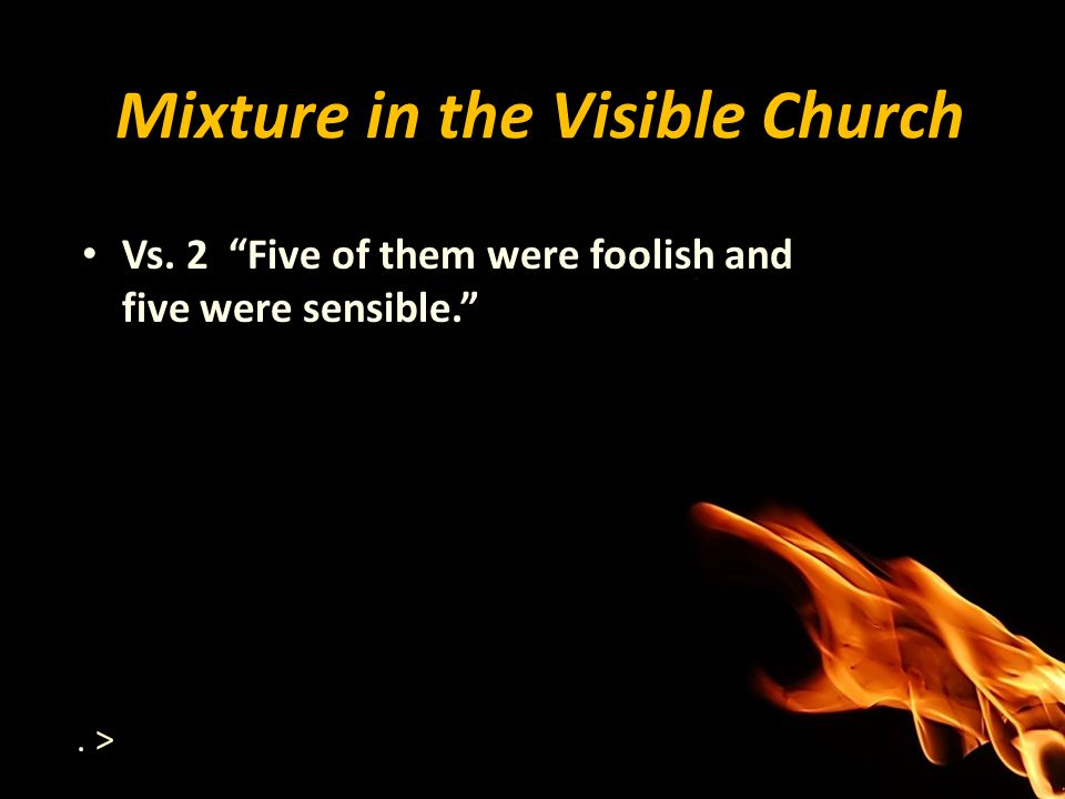 Mixture in the Visible Church