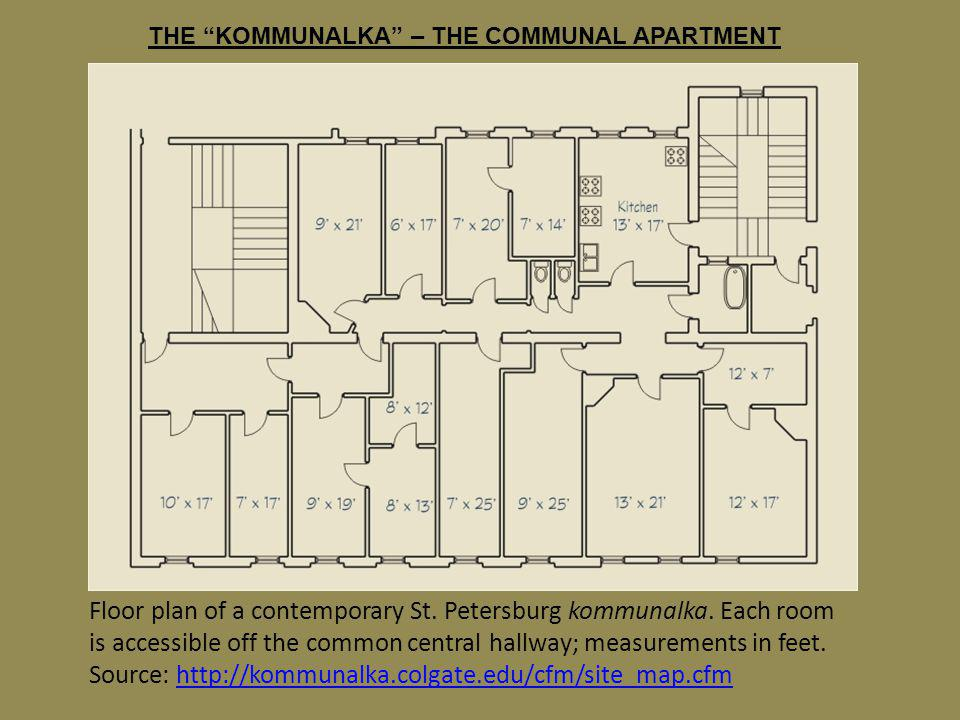 THE KOMMUNALKA – THE COMMUNAL APARTMENT