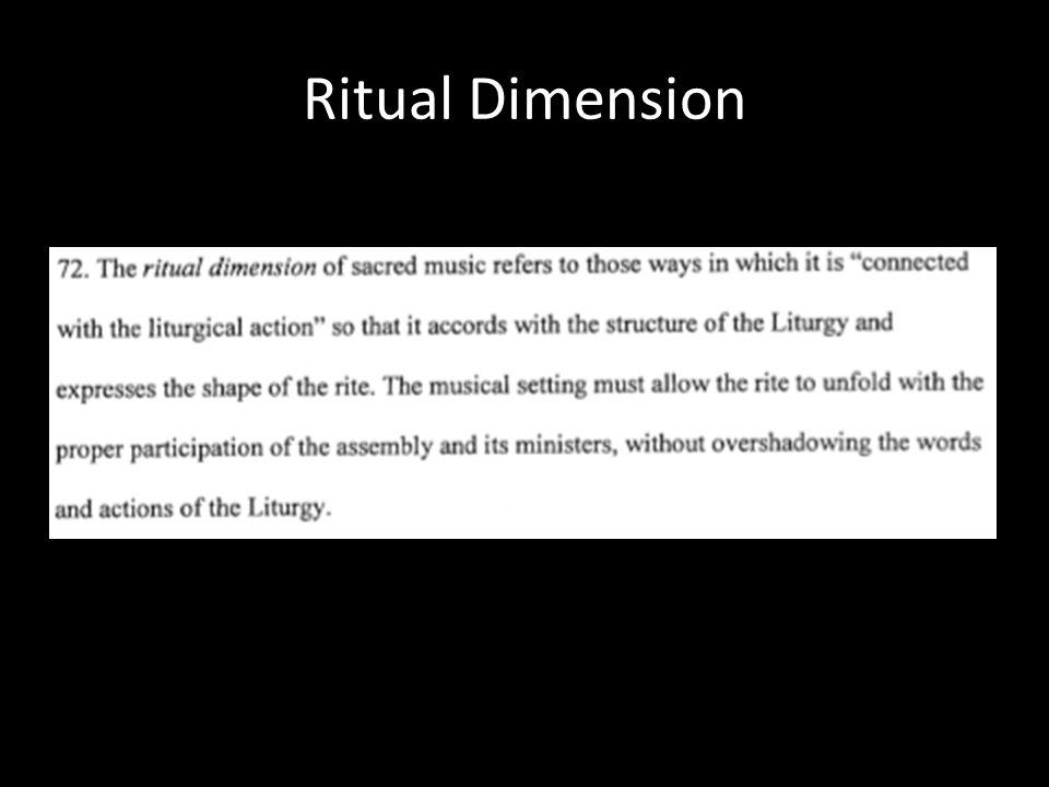 Ritual Dimension