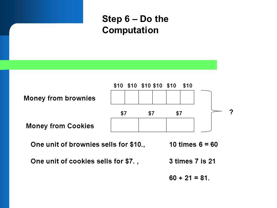 Step 6 – Do the Computation