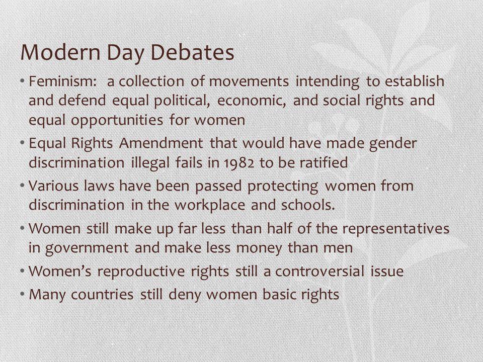 Modern Day Debates