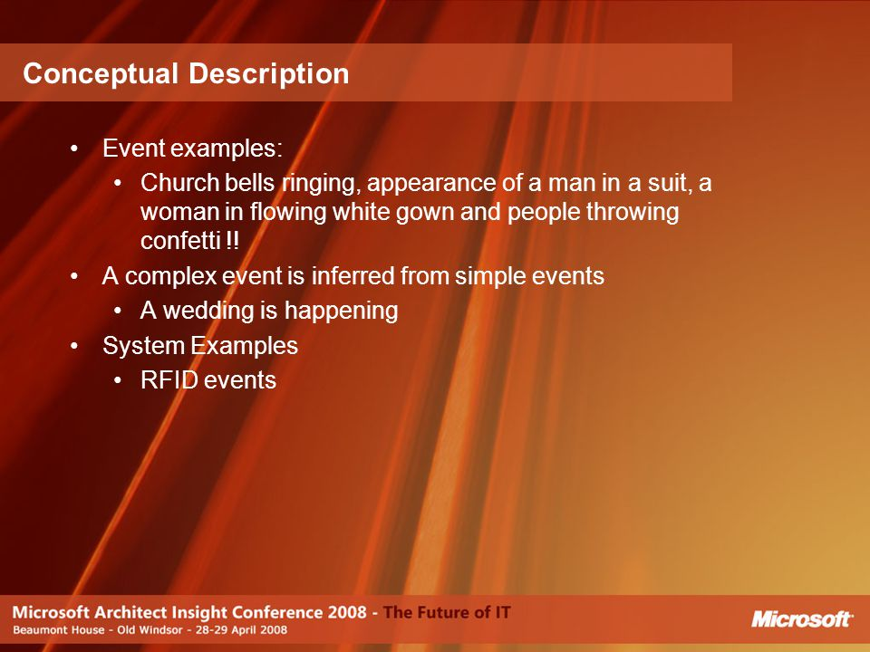 Conceptual Description