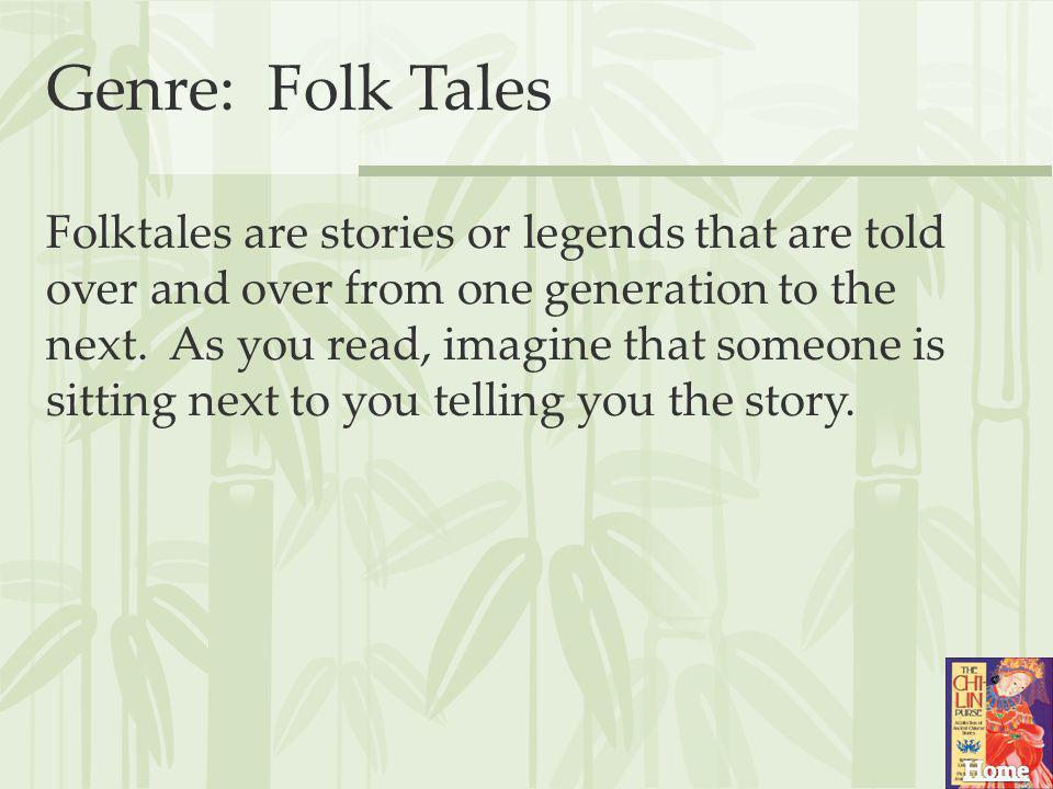 Genre: Folk Tales