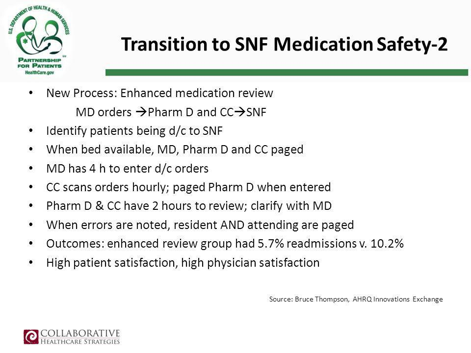 Transition to SNF Medication Safety-2