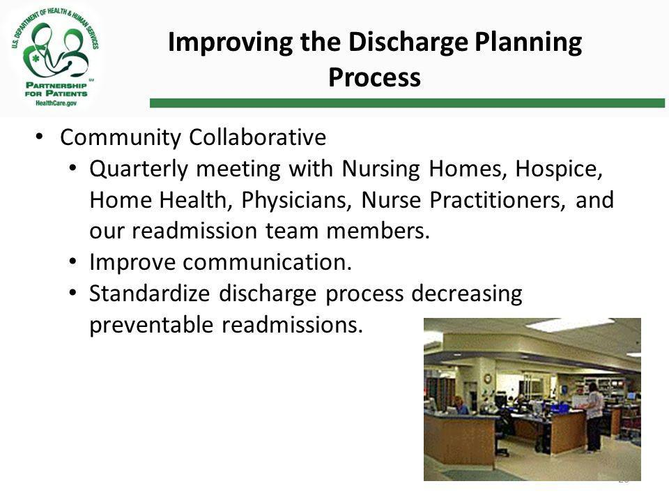 Improving the Discharge Planning Process