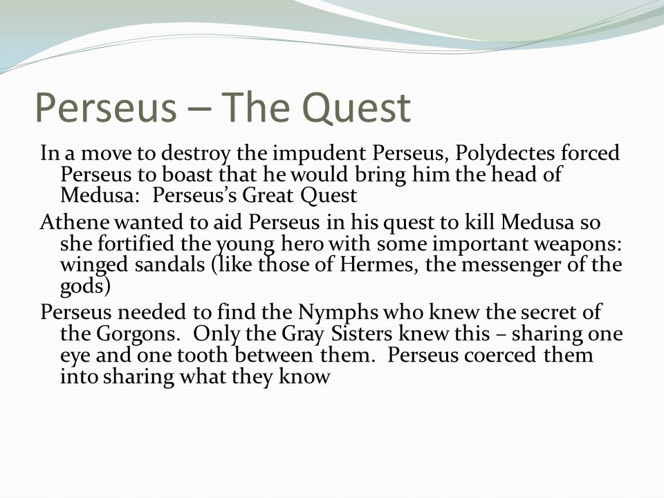 Perseus – The Quest