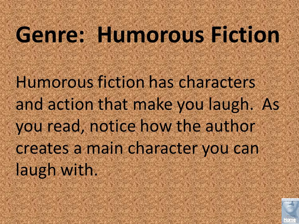 Genre: Humorous Fiction