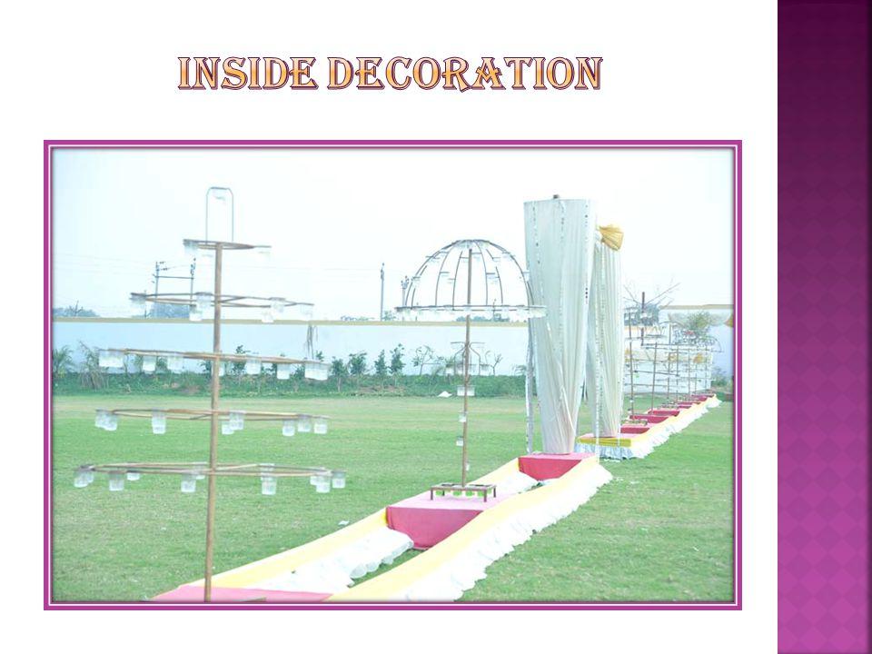 Inside decoration