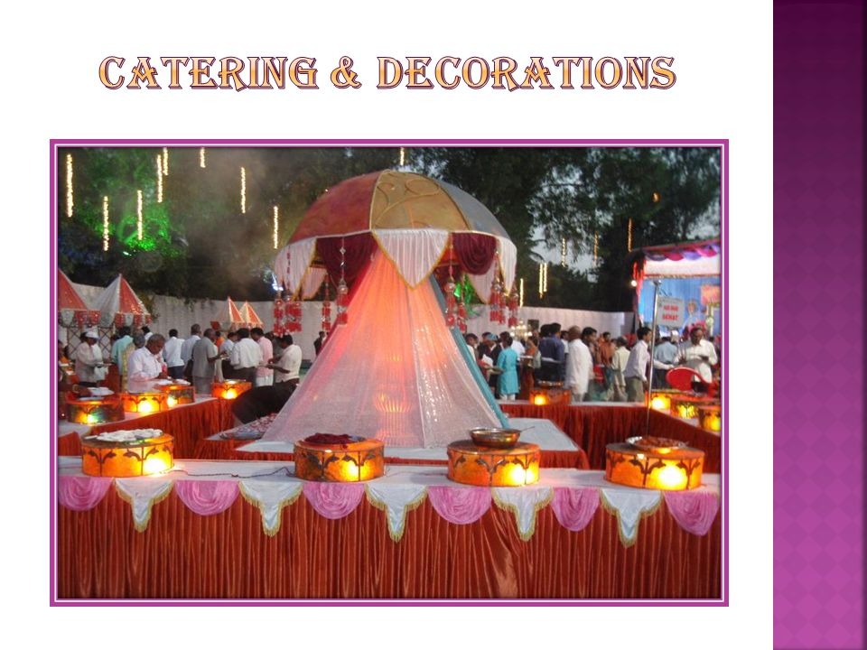 Catering & Decorations