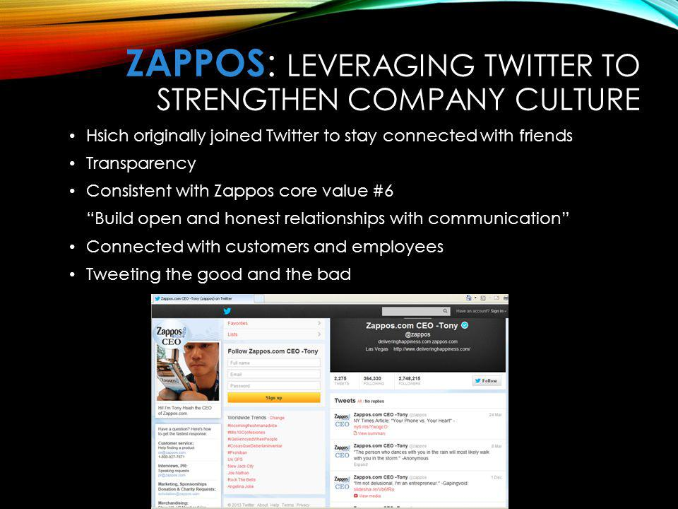 zappos com case essay Why was zappos so successful in its first 10 years from 1999-2009 what  evidence is presented in the case of the company's success what general,  highlevel.