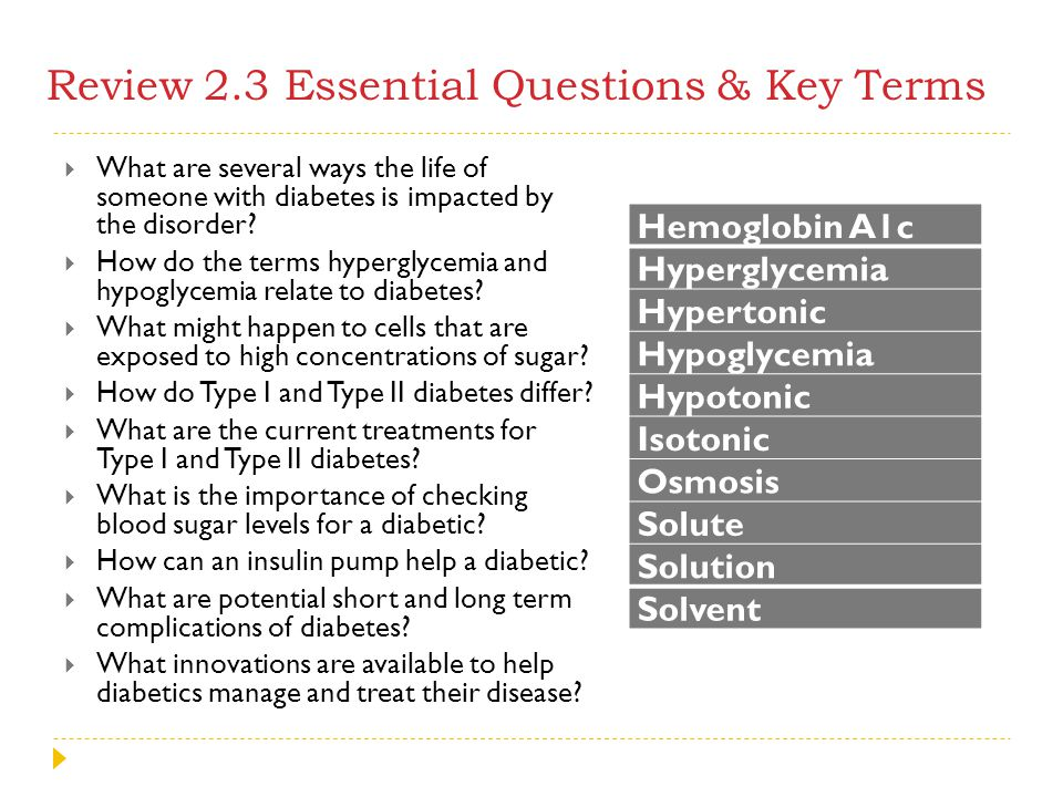 Review 2.3 Essential Questions & Key Terms