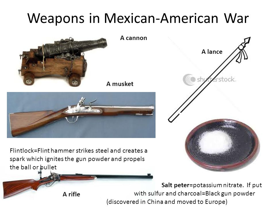 Weapons in Mexican-American War