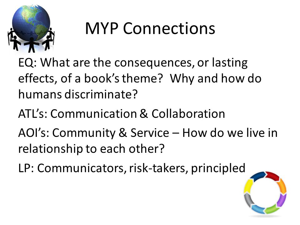 MYP Connections