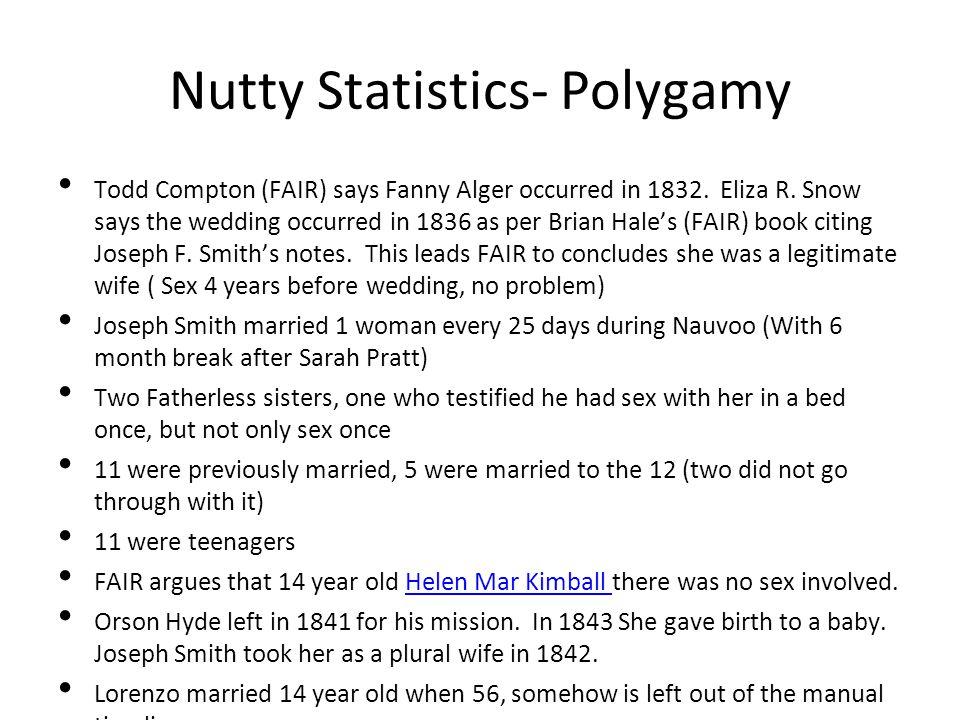 Nutty Statistics- Polygamy