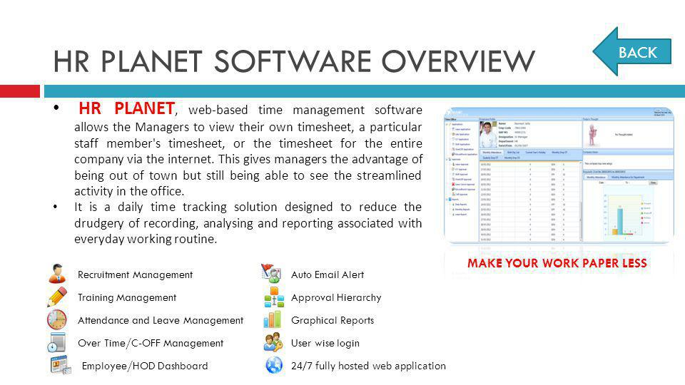 HR PLANET SOFTWARE OVERVIEW