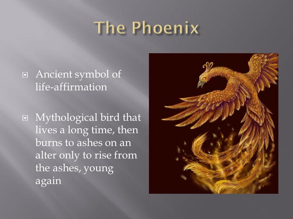 The Phoenix Ancient symbol of life-affirmation