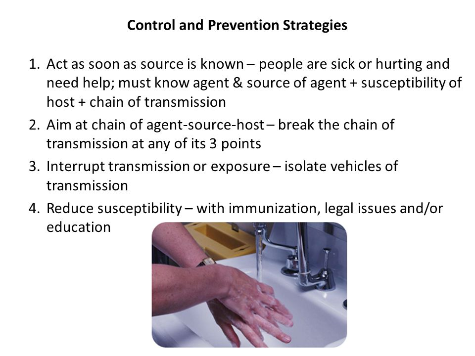 Control and Prevention Strategies