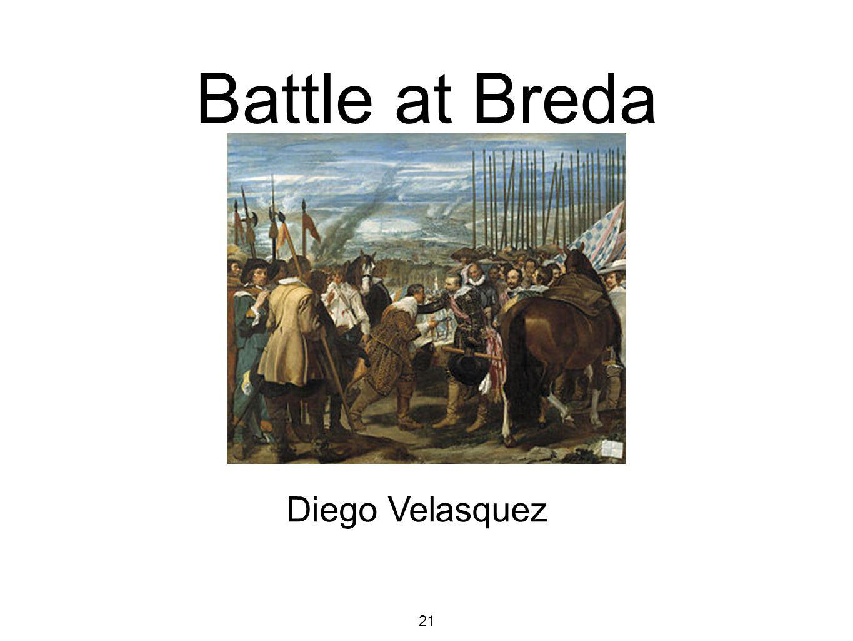Battle at Breda Diego Velasquez