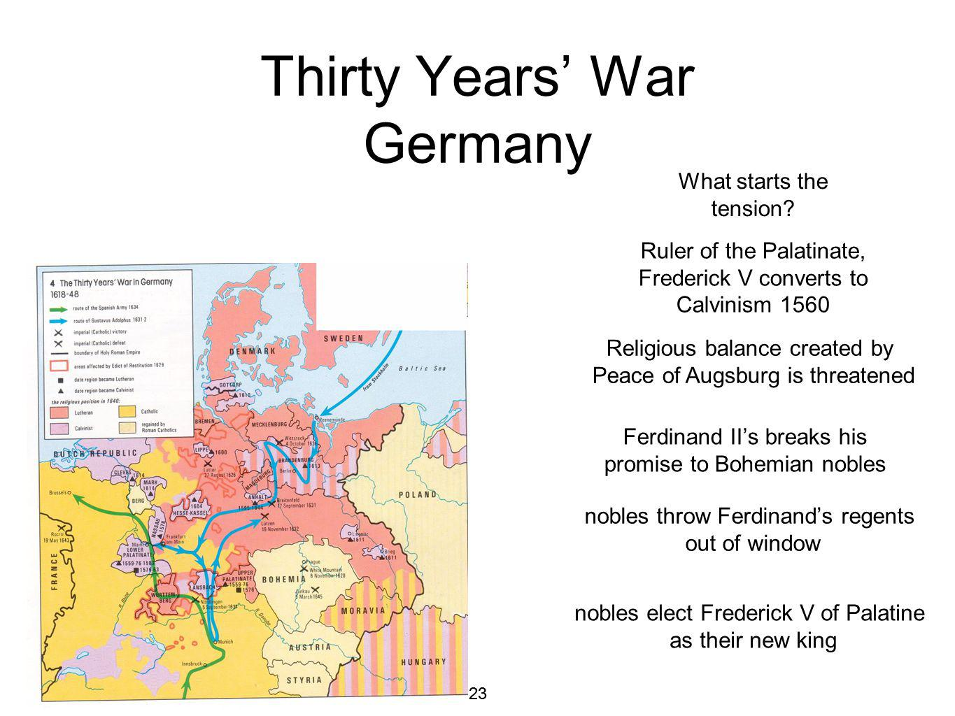 Thirty Years' War Germany