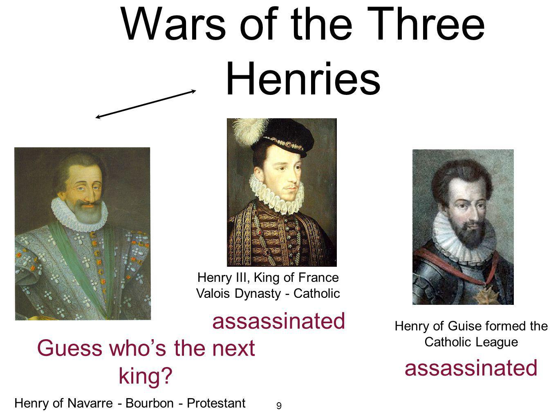 Civil Wars: Wars of the Three Henries