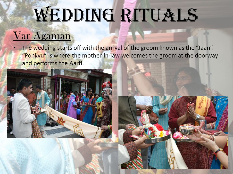 Wedding Rituals Var Agaman