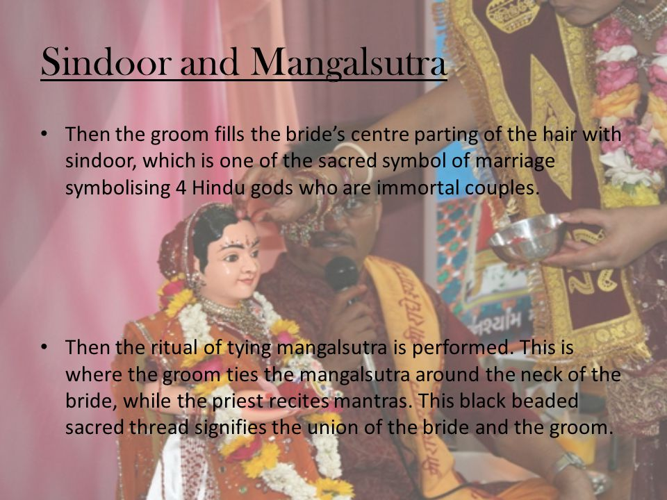 Sindoor and Mangalsutra
