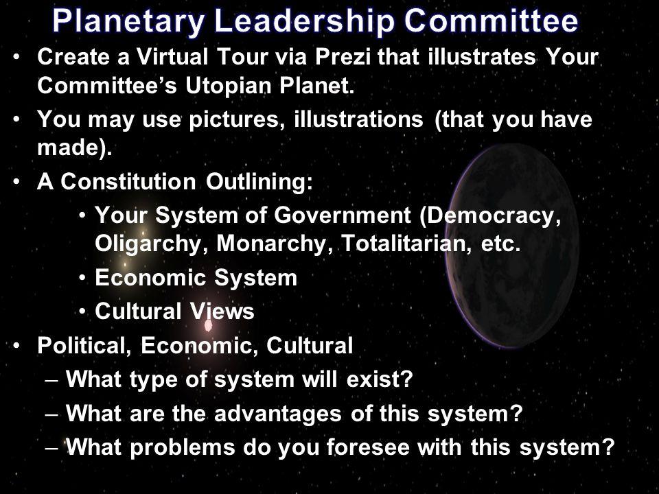 Planetary Leadership Committee