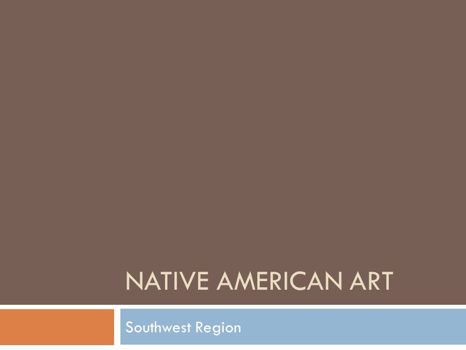 Native American Art Southwest Region