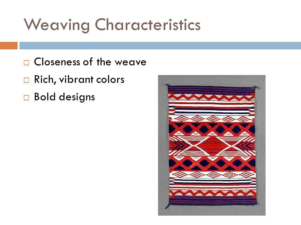 Weaving Characteristics
