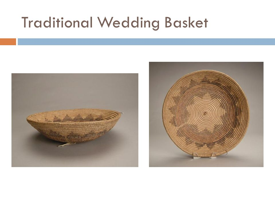 Traditional Wedding Basket