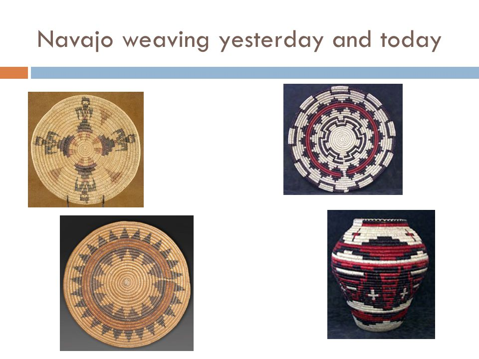 Navajo weaving yesterday and today